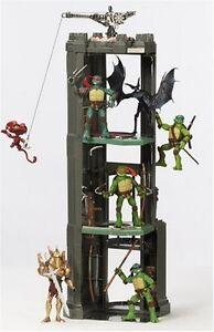 TMNT Monster Tower Playset ~ Teenage Mutant Ninja Turtles Movie