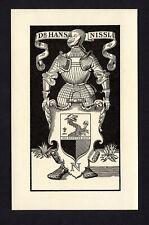 20)Nr.087- EXLIBRIS- Josef Tengler, 1937