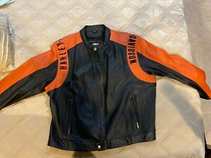 Motorcycle Leather jacket 3XL