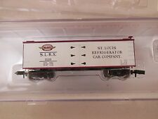 N SCALE ROUNDHOUSE ST LOUIS REFRIGERATOR CAR CO OLD TIME REEFER