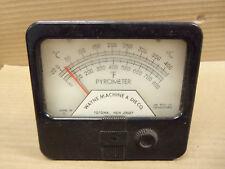 Wayne Machine & Die Company Simpson Model 29 Panel Volt Meter Voltmeter 0-800