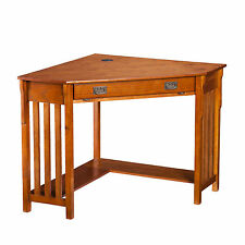 Medium Wood Tone Desks and Home Office Furnitures