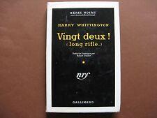VINGT DEUX ! (long rifle ...)