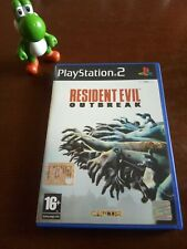 RESIDENT EVIL OUTBREAK ps2 PlayStation PAL ITA RARE SURVIVAL HORROR CAPCOM