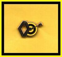 Pin's lapel pin pins Car Auto Ancien logo RENAULT Cible flèche TIR A L'ARC ZAMAC