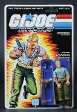 1987 Hasbro GI Joe Series 6 Chuckles 34 Back MOC Sealed Vintage