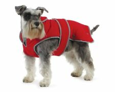 Ancol Muddy Paws Stormguard Coat with Fleece Lining - Red (size Large)