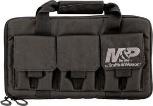 Smith & Wesson Pro Tac Double Pistol Pocket Pouches Black Handgun Case P110029