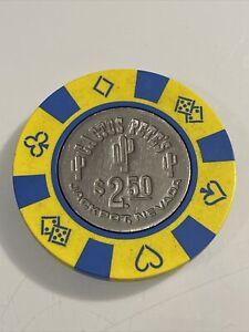 CACTUS PETE'S $2.50 Casino Chip JACKPOT Nevada 3.99 Shipping