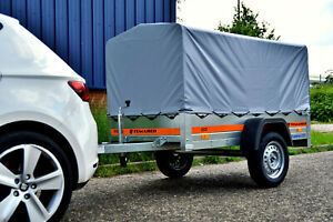 Camping Trailer 750 kg 6'7 x 3'6 TRAILER Removable Frame and Canopy