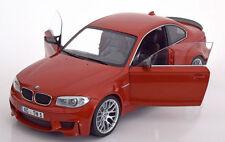 Minichamps 2011 BMW M1 Series Coupe Orange 1:18*New! Last One!!