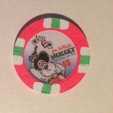 Jim Kelley's Nugget $5.00 Casino Chip Reno & Lake Tahoe At Crystal Bay Nevada