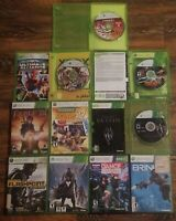 LOT OF 10 XBOX 360 GAMES MICROSOFT, TESTED AND WORKING
