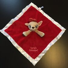 4d456f3acf Rudolph the Red Nosed Reindeer Clarice Security Blanket Santa s Little  Helper