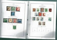 F418 Japan 1939-69 collection hinged/mounted on 60leaves No8.