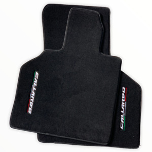 Floor Mats For Lamborghini Gallardo Black Tailored Carpets AutoWin Brand