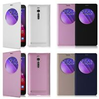 "Flip Leather Battery Case Cover Smart For ASUS ZenFone 2 5.5"" ZE550ML ZE551ML"