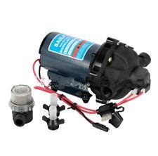 DC12V Water Pressure Diaphragm Pump 60PSI Deck Wash Pump for Caravan RV Boat