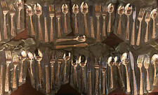 Set of 50 Pcs of Gold Plated Silverware, Gold Flatware,Gold Spoon,Gold Fork Nos
