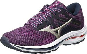 Mizuno Running Shoes Wave Inspire 17 Womens Purple