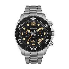 Bulova 98B244 Sea King Men's Chronograph Stainless Steel Quartz Watch -RRP £ 649