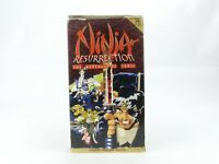 VHS Anime: Ninja Resurrection The Revenge of The Jubei. English Language Version