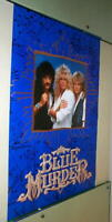 BLUE MURDER Vintage Group Poster