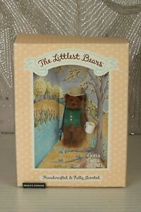 Miniature bears for BARBIE DIORAMA by Gun :The littlest Bears 'THE FATHER' 7002