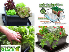 UrBin Grower Self Watering Organic Plant Growing Irrigation System Container Tub