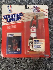 1988 Michael Jordan Rookie Chicago Bulls Starting Lineup NBA Rookie Card #39🔥