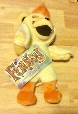 Funky dancing bear duck rare Liquid Blue plush bean bag Grateful Dead