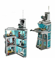 ✅511pcs Attack on Avengers Tower Marvel Super Heroes For CUSTOM Lego Minifigure