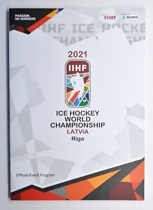 2021 IIHF Ice Hockey World Championship Riga Latvia Official Event Program