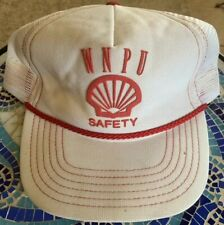 VTG Snapback Hat Cap Shell Safety Oil Field USA