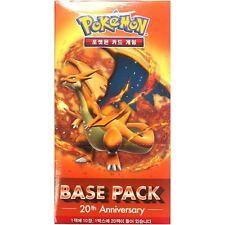 1 Booster Pokémon XY : 20th Anniversaire Base Pack Mega Charizard - Coréen