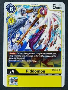 Piddomon BT4-042 C - Digimon Cards #ZY