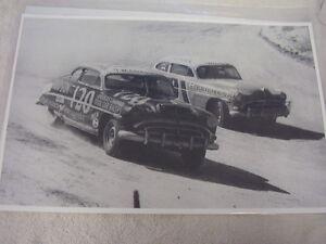 1948 1949  HUDSON RACE CARS    11 X 17  PHOTO /  PICTURE