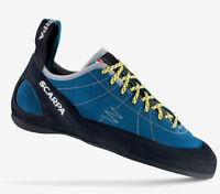 Petites chaussures Escalade escalade SCARPA HELIX Hyper Bleu échantillons