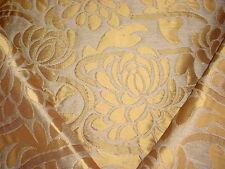 Rodolph RGD3369 River Godess Goldleaf Damask Brocade Matelasse Upholstery Fabric
