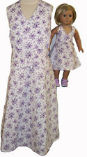 Size 14 Matching Girl and Doll Clothes Fits American Girl Dolls 18 Inch Dolls
