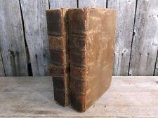The Natural History of England ~ Benjamin Martin ~ Vol I & II
