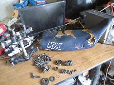 1985 Kawasaki KX250 Seat Triple Rree Shift Drum Clutch Actuator Etc Parts Lot