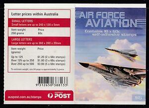 Australia 2011 Air Force Aviation Phil Booklet ($6.00) - B481