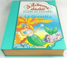 Il Librone Dido Didó Fiabe da Giocare La Sirenetta Ariel Disney Adica Pongo Raro