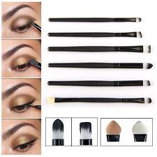 6Pcs Pro Eye Makeup Brushes Set Cosmetics Eyeshadow Eyeliner Lip Smudge Brush