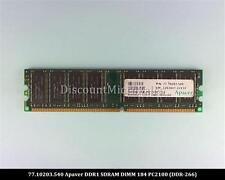 Apacer 77.10203.540 DDR 256MB PC-2100 Non ECC 266Mhz RAM Memory