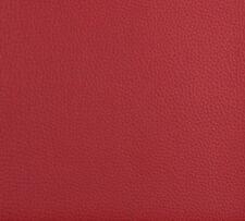 Garnet Red Animal Skin Look Leather Hide Grain Vinyl Upholstery Fabric