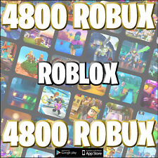Roblox 4800 Robux @ account accreditation