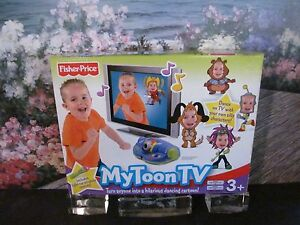 New Fisher-Price My Toon TV Dance Sing With Characters On TV Includes Remote
