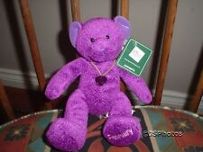 Russ Bears of the Month February Amethyst Pendant